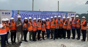 Topping Off Dormitory BCA